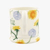 Personalised Dandelion 1/2 Pint Mug