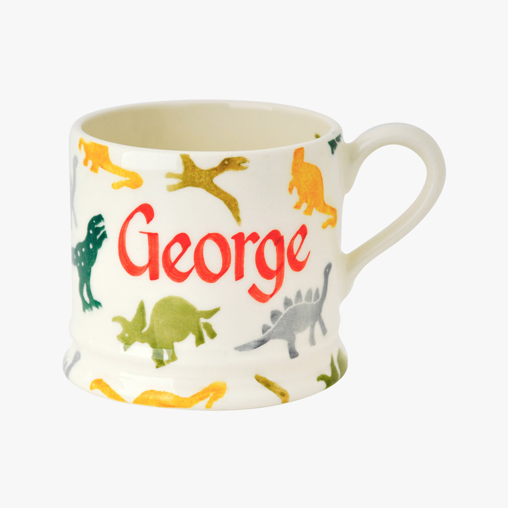 Personalised Dinosaurs Small Mug