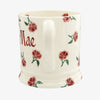 Personalised Little Pink Rose 1 Pint Mug