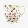 Personalised Little Pink Rose 3 Pint Jug