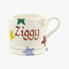 Personalised Polka Star Small Mug