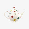 Personalised Polka Star 2 Mug Teapot