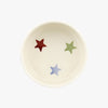 Personalised Polka Star Small Pet Bowl