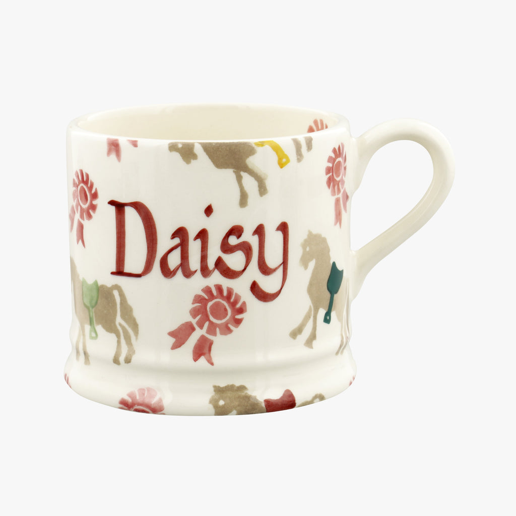 Personalised Pony Small Mug