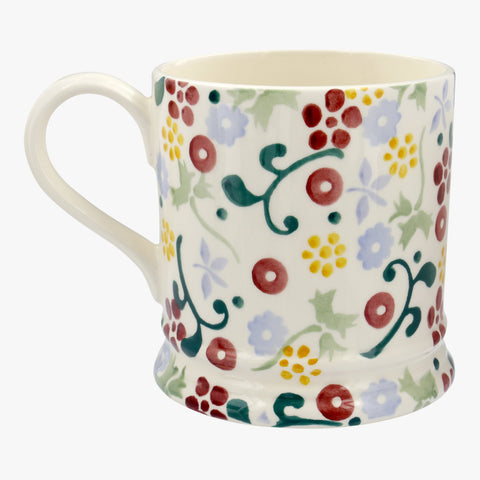 Personalised Spring Floral 1 Pint Mug
