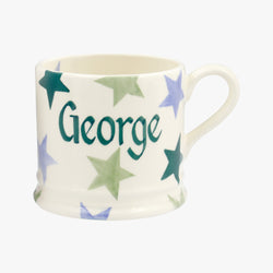 Personalised Winter Star Small Mug