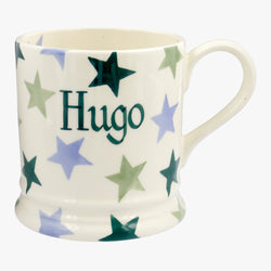 Personalised Winter Star 1 Pint Mug