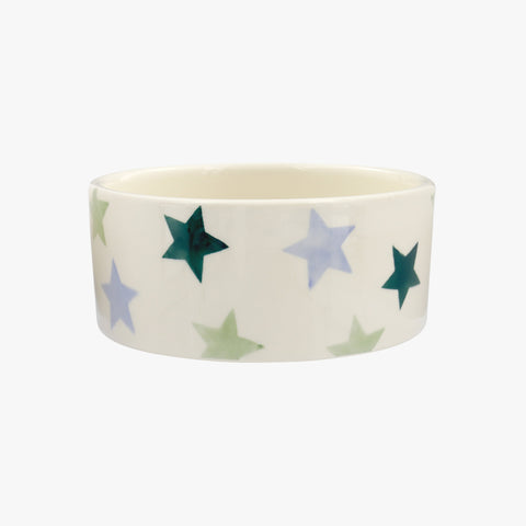 Personalised Winter Star Small Pet Bowl
