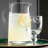 Black Toast Glass Lemonade Jug Boxed