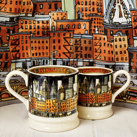 Seconds New York 1/2 Pint Mug