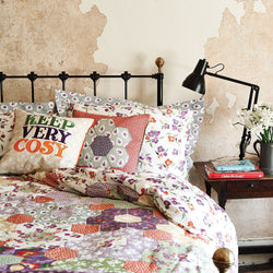 Wallflower Patchwork King Duvet Set