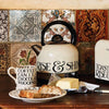 Russel Hobbs Electric Kettle with Emma Bridgewater Design. Toast & Marmalade Style Oslo Kettle with Rise & Shine lettering.