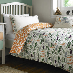 Safari Animals Single Duvet Set