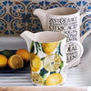 Seconds Vegetable Garden Lemons Large Straight Jug