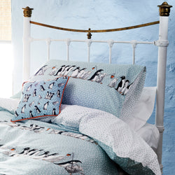 Chatty Penguins Single Duvet Set