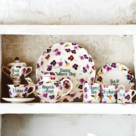 Personalised Wallflower Small Mug