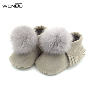 Leather First Walkers Soft Sole 0-18M
