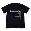APOSTELLO T [Vintage Black] - NHiM Apparel
