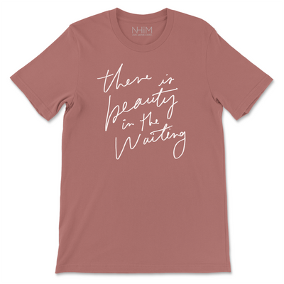 Beauty in waiting Tee [Rose] - NHiM Apparel