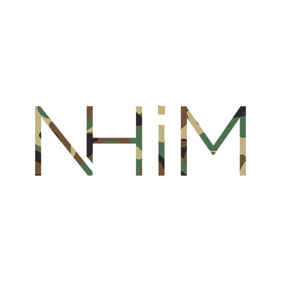 "6"" NHIM DECAL - Camo - NHiM Apparel"