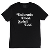 Colorado Bred Spirit Led T [Black] - NHiM Apparel