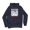 NHiM NATIVE Hoodie [Navy Heather] - NHiM Apparel