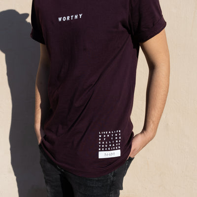 Worthy NHiM T - Oxblood
