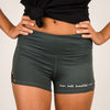 Brave Bold Beautiful Criss-Cross Shorts - Aruba Blue - NHiM Apparel