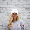 NHiM Dad Hat - White - NHiM Apparel