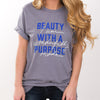 Beauty Tee [Storm] - NHiM Apparel
