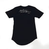 Kindness Curve Tee [Black] - NHiM Apparel