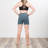 Beautifully Made NHiM High Waist Shorts - Teal - NHiM Apparel