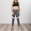 Strength NHiM  Color Block Leggings - Grey