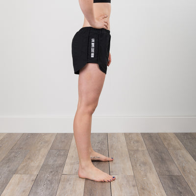 Live Move Exist Dolphin Shorts - Black - NHiM Apparel