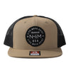 NHiM Colorado Patch Trucker [KHAKI] - NHiM Apparel