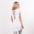 NHiM Label Flowy Criss-Cross Coverup - White