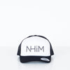 NHiM Foam Trucker Black/White/Black - NHiM Apparel
