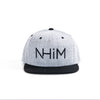 NHiM Snapback Heather Gray/Black - NHiM Apparel
