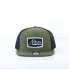 NHIM Sacred Supplies Trucker - Loden - NHiM Apparel