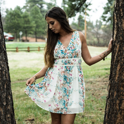 Gardens in Giverny Dress - NHiM Apparel
