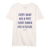 Every Saint Tee - Vintage White - NHiM Apparel
