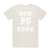 God is love T [Natural] - NHiM Apparel