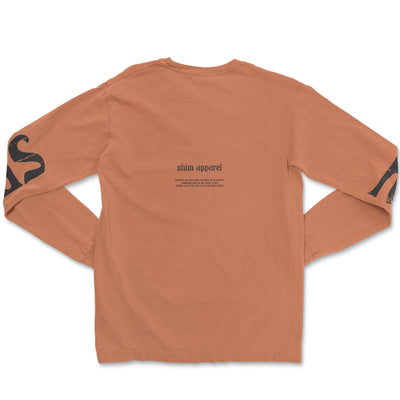 Trinity Long Sleeve [Burnt Orange]