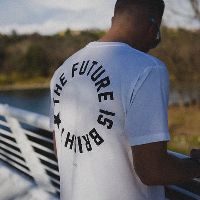 Future is Bright T [White] - NHiM Apparel