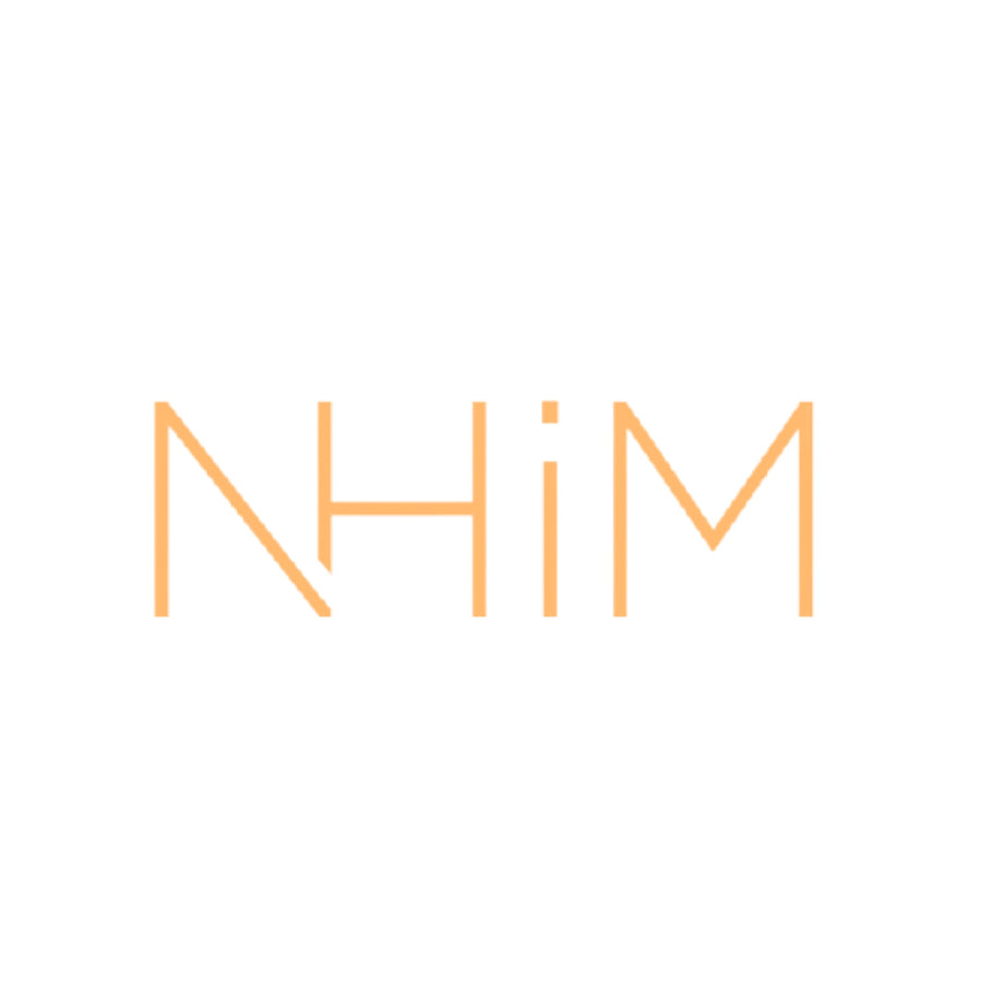 "6"" NHIM DECAL - Orange"