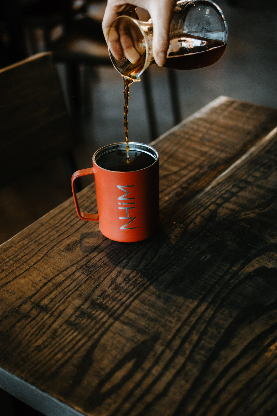 NHiM Traveler Coffee Mug [RED] - NHiM Apparel
