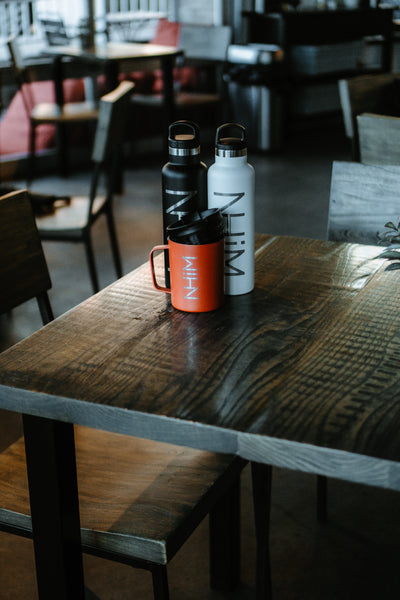 NHiM Traveler Water Bottle [WHITE] - NHiM Apparel
