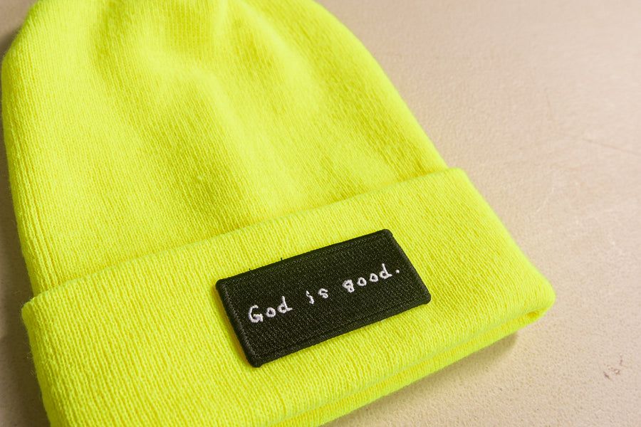 God is good Beanie [Neon]