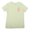 Pray More Worry Less Tee [Faded Lime]