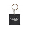 NHIM RUBBER KEYCHAIN - BLACK - NHiM Apparel
